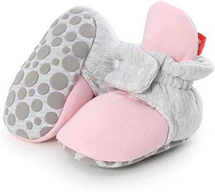 Baby Toddler Anti-slip Crawling Socks Shoes Toddler Bowknot Slipper Boots