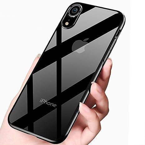 qualità superiore 8b31a 5d834 tronisky Custodia iPhone XR, Silicone Cover iPhone XR Custodia Morbido TPU  Bumper Case Anti-graffio Anti-Shock Ultra Sottile Protettiva Caso Copertura  ...
