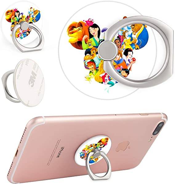 DISNEY COLLECTION Pop Phone Ring Collapsible Grip /& Stand Holder Mickey Head for Phones Case Tablets Skidslip Protective