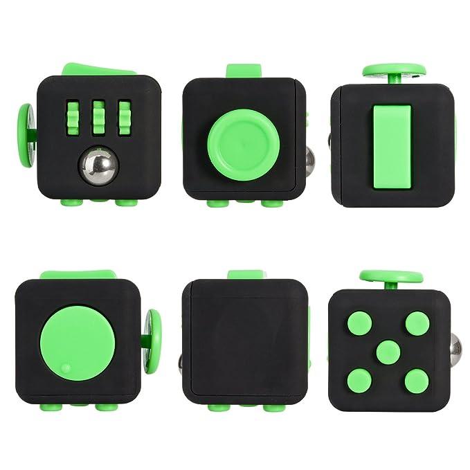 45 opinioni per Fidget Cube Alleggerisce lo stress e la paura per bambini e adulti giocattolo