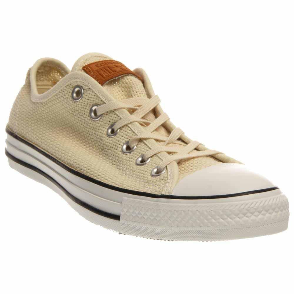 Converse Unisex Chuck Taylor All Star Low Top Sneakers B00LV4RD5Y 12 B(M) US Women / 10 D(M) US Men|Natural/White/Acorn