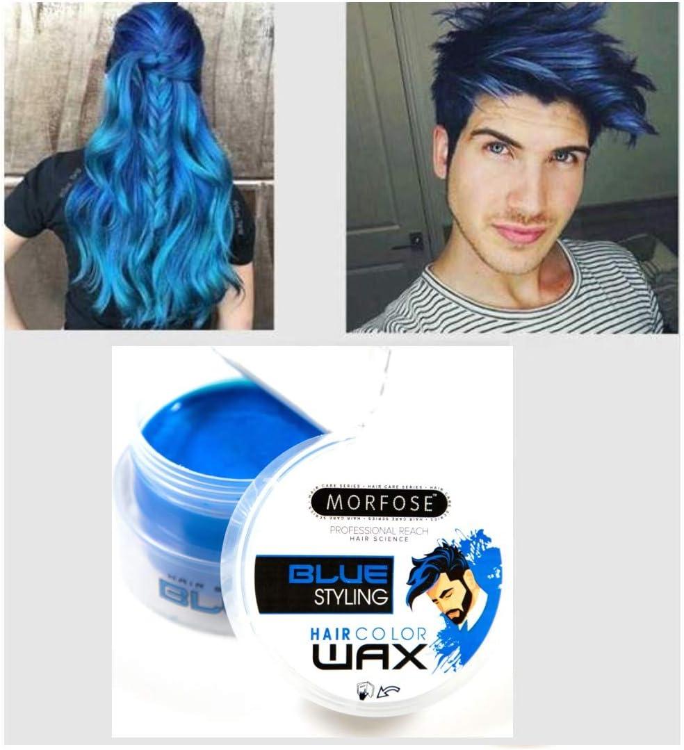 Morfose Cera para el pelo color azul, 100 ml, color azul ...