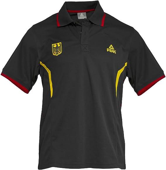 Peak Sport Europe Polo Camiseta Alemania Deutsche Baloncesto ...