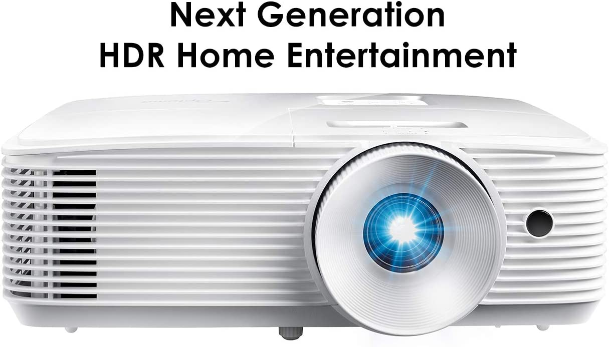 Optoma HD28HDR 1080p Home Theater Projector for Gaming and Movies | Support for 4K Input | HDR Compatible | 120Hz refresh rate | Enhanced Gaming Mode, 8.4ms Response Time | High-Bright 3600 lumens