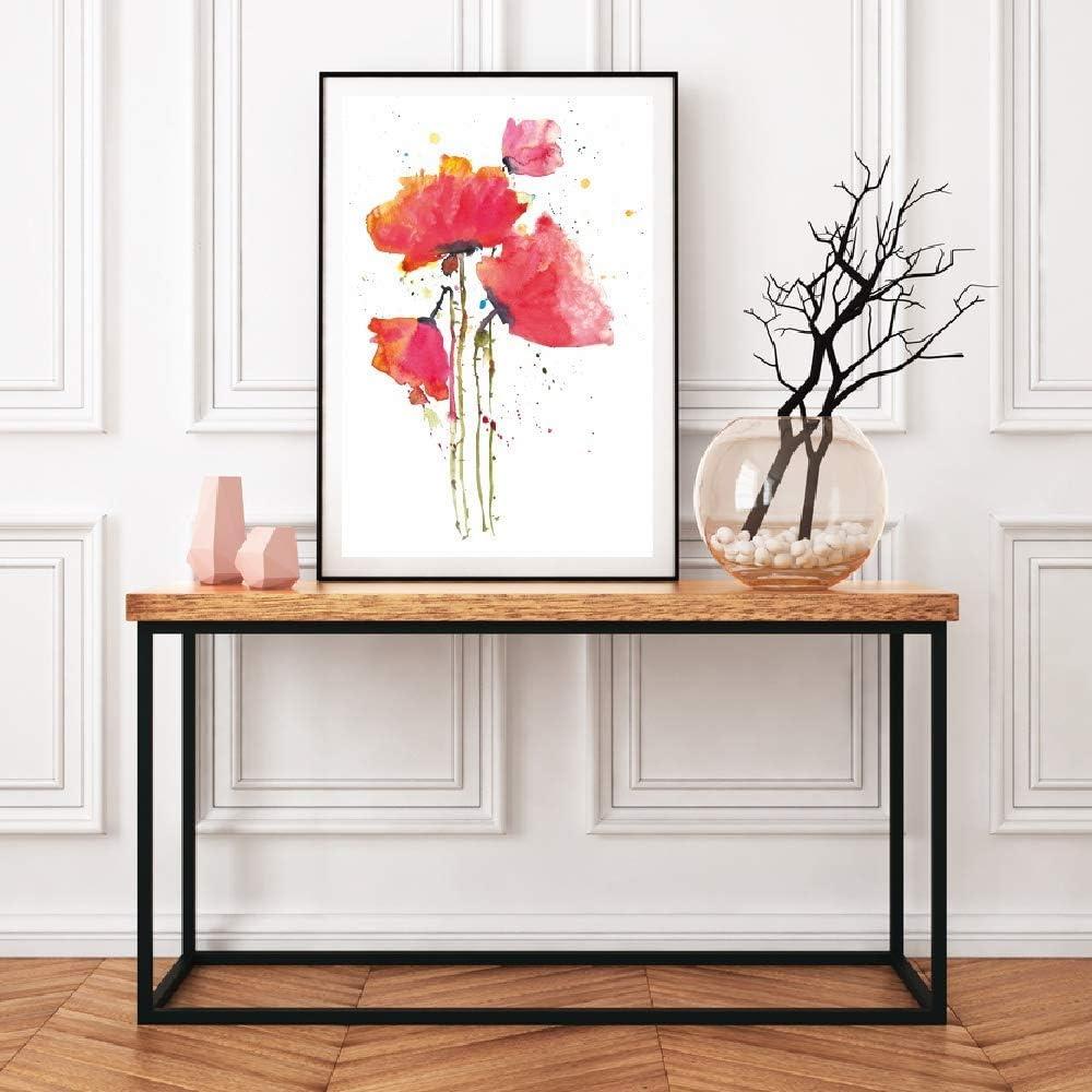 ARTPRIME Lámina para enmarcar de Flores, Cuadro de Flores Decorativo Moderno con un diseño Original impresión Papel 250Gr. Tamaño (A3)