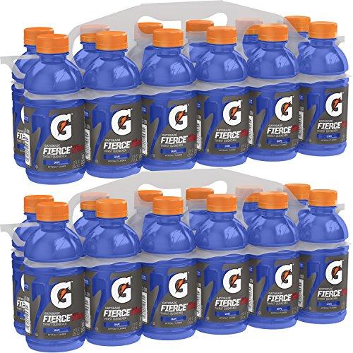 Gatorade Fierce Thirst Quencher, Grape, 12 Ounce Bottles (Pack of 24) - Muscat Grape Juice