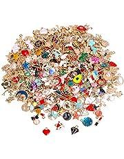 SANNIX 350Pcs Wholesale Bulk Lots Jewelry Making Charms Assorted Pendants for DIY Necklace Bracelet Earring Craft Supplies