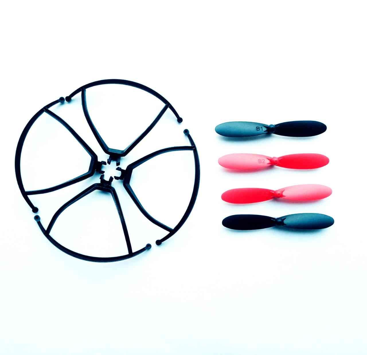 Metakoo M5 Drone Replacements Hélices y marco Protector: Amazon.es ...