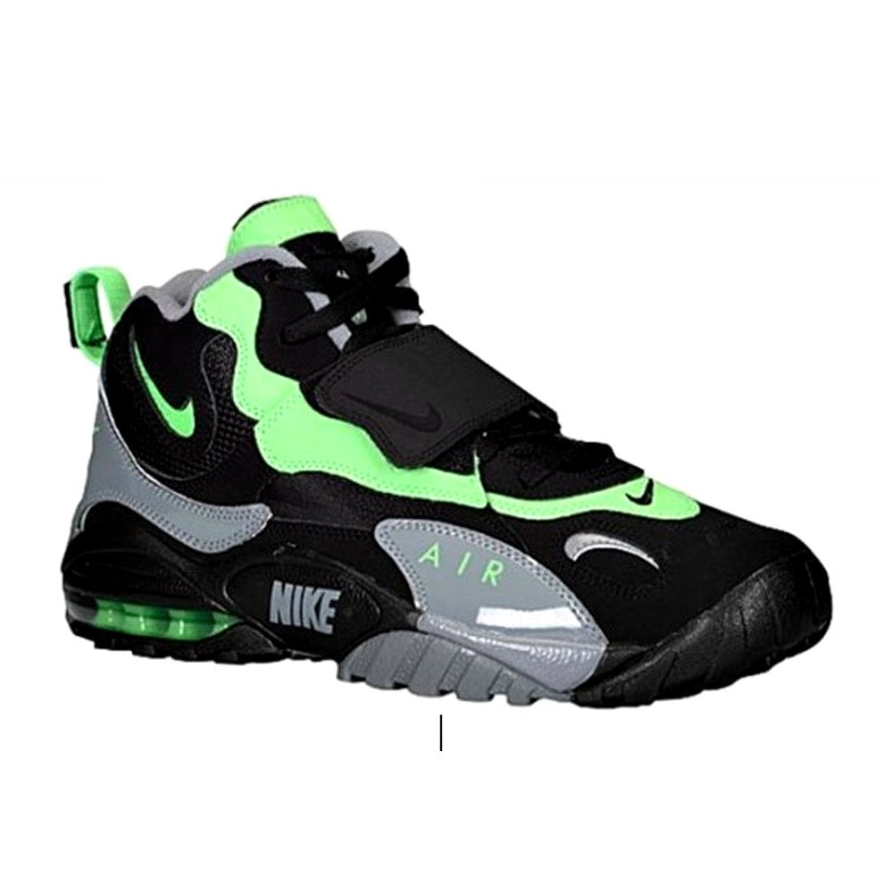 san francisco 8eb67 5fb91 Galleon - Nike Air Max Speed Turf Poison Green Black Gey Shoes 525225-030  (11.5)