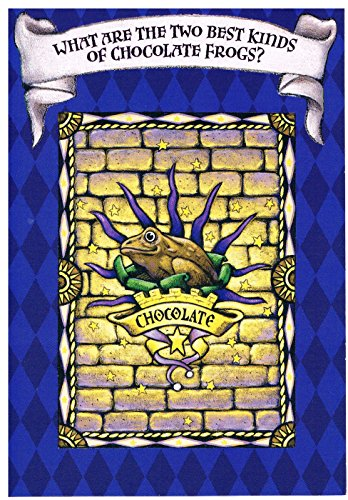 Harry Potter Chocolate Frog Halloween Card, Envelope, USPS Postage Stamp