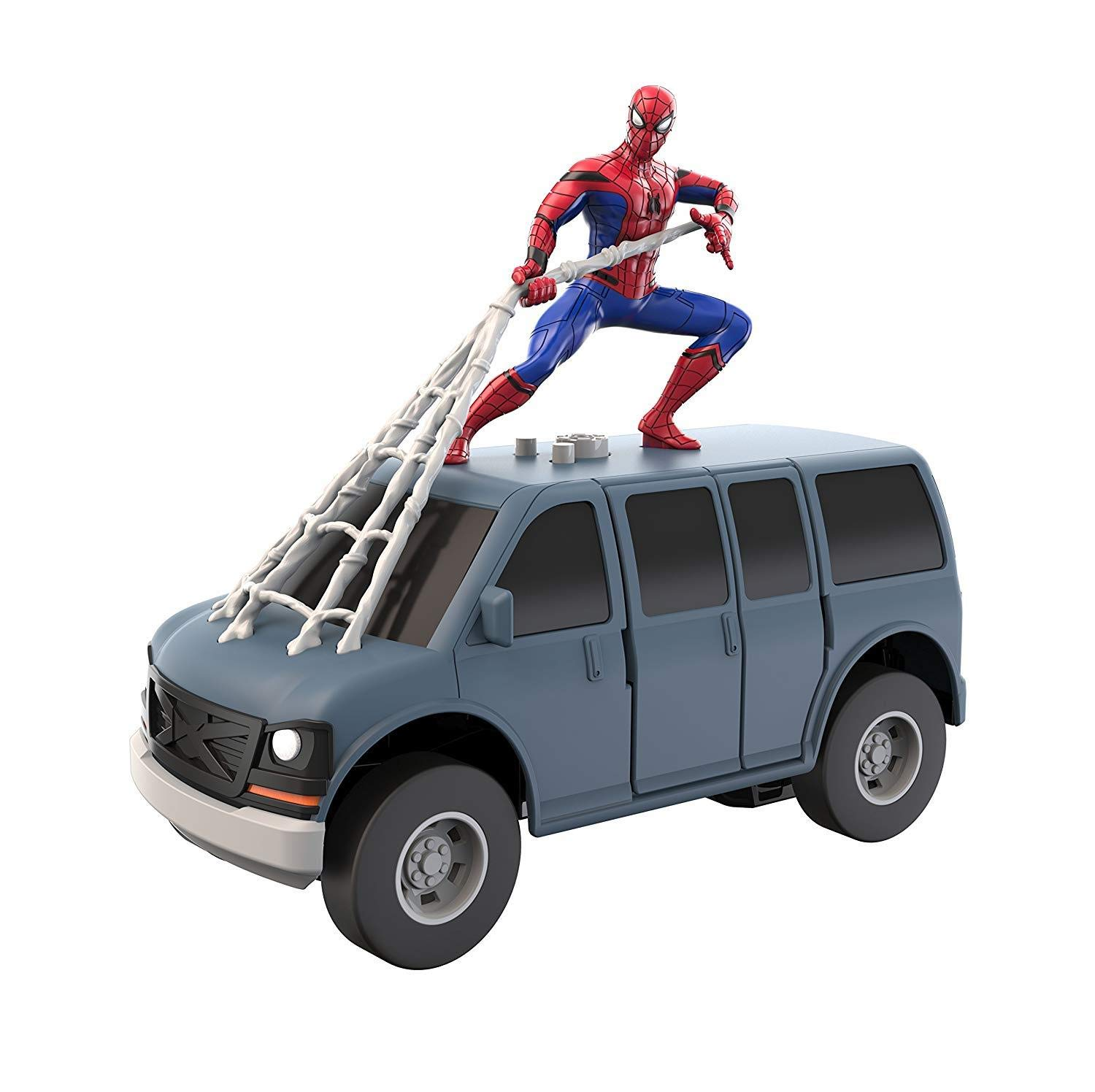 Spidermanmarvel Rc Web Wheelie Electronic Toy 9094 By Spider-man