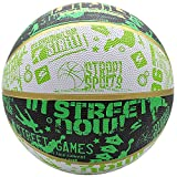 JYMingde Street Basketball Indoor Outdoor Cool Graffiti Basketball Official Size 7/Size 5