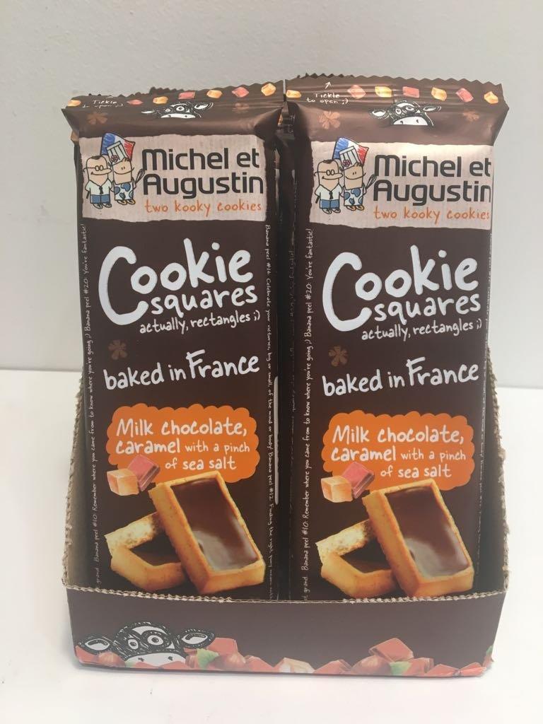 Metaug Cookie Squares,MLK Cho,CRM 2.41 oz (Pack of 20)