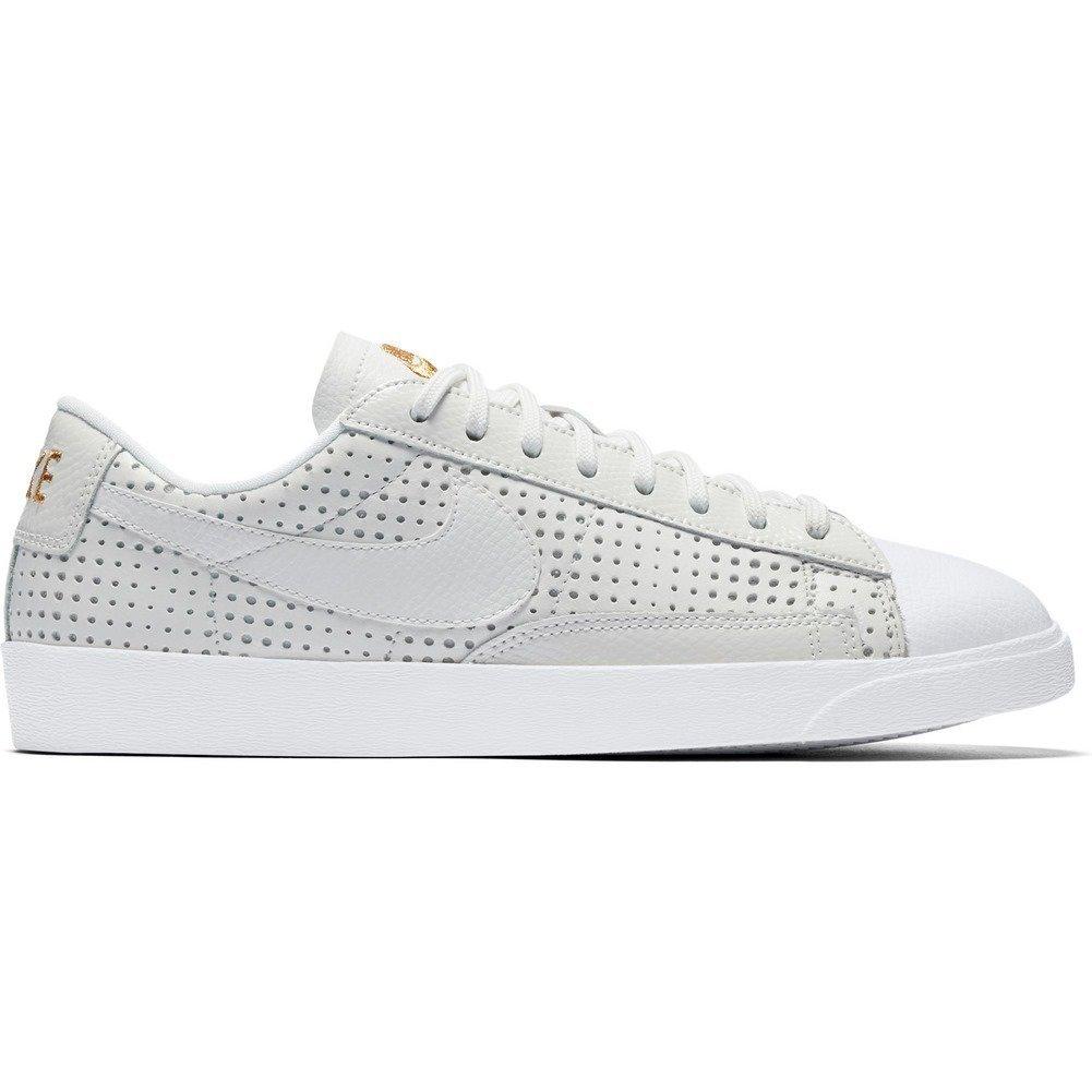 Nike W Blazer Low SE PRM Summit White Womens Size 6.5