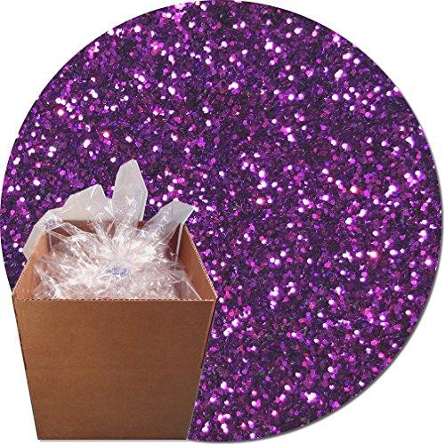 Glitter My World! Craft Glitter: 25lb Box: Princess Purple by Glitter My World!