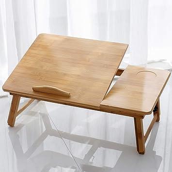 Amazon.com: Bandeja de bambú para ordenador portátil con ...