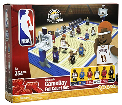 The Bridge Direct NBA Elite Edition Full Court Set Game
