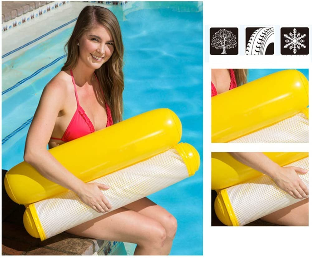 2019 Water Hammock Inflatable Pool Floating Lounger suitable for Beach//Pool DE