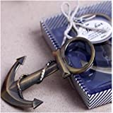 Edtoy Ocean Sailing Boat Nautical Anchor Bottle Opener Shower Wedding Party Favor Gift