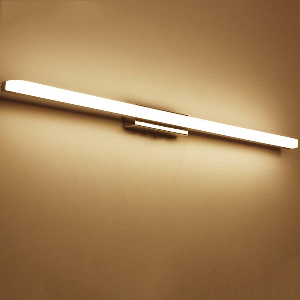 badezimmerlampe Spiegel-Licht, LED-Badezimmer-Spiegelkabinett-Licht, weißes Licht 6000-6500K, warmes Licht 3000-3500K Schminklicht (Farbe   weißes Licht-16W 80cm)