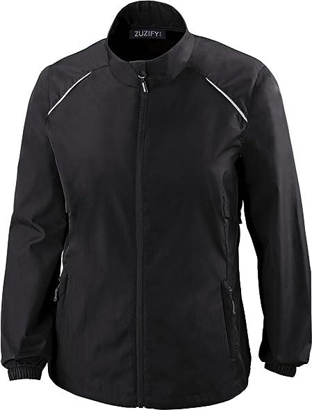 Amazon.com: ZUZIFY Ladies Propel Unlined Windbreaker Jacket ...