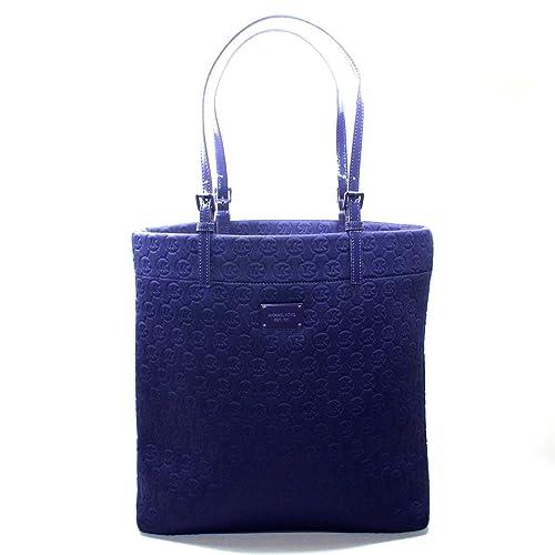 a760c6b65201 Michael Kors Neoprene Purple Jet Set Tote Bag (Purple) #30F2GTTT3P MSRP  $128: Amazon.ca: Shoes & Handbags