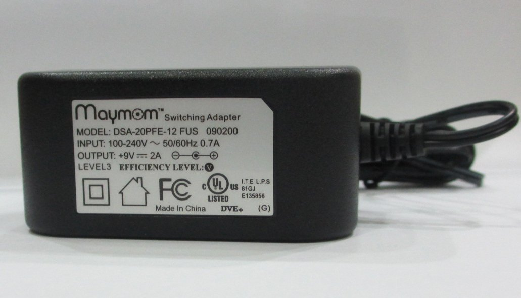 New Medela 9V Power Adapter Pump In Style Advanced Replacement Model 9207010