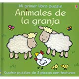 Animales De La Granja (Mi Primer Libro Puzzle) (English and Spanish Edition)