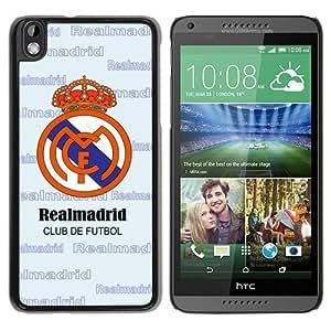 Unique Custom Designed Cover Case For HTC Desire 816 With Real Madrid Black Phone Case 4