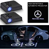2Pcs Car Door Logo Light Projector for Mercedes Benz,LED Wireless Ghost Shadow Lights,Laser Door Welcome Courtesy Puddle…
