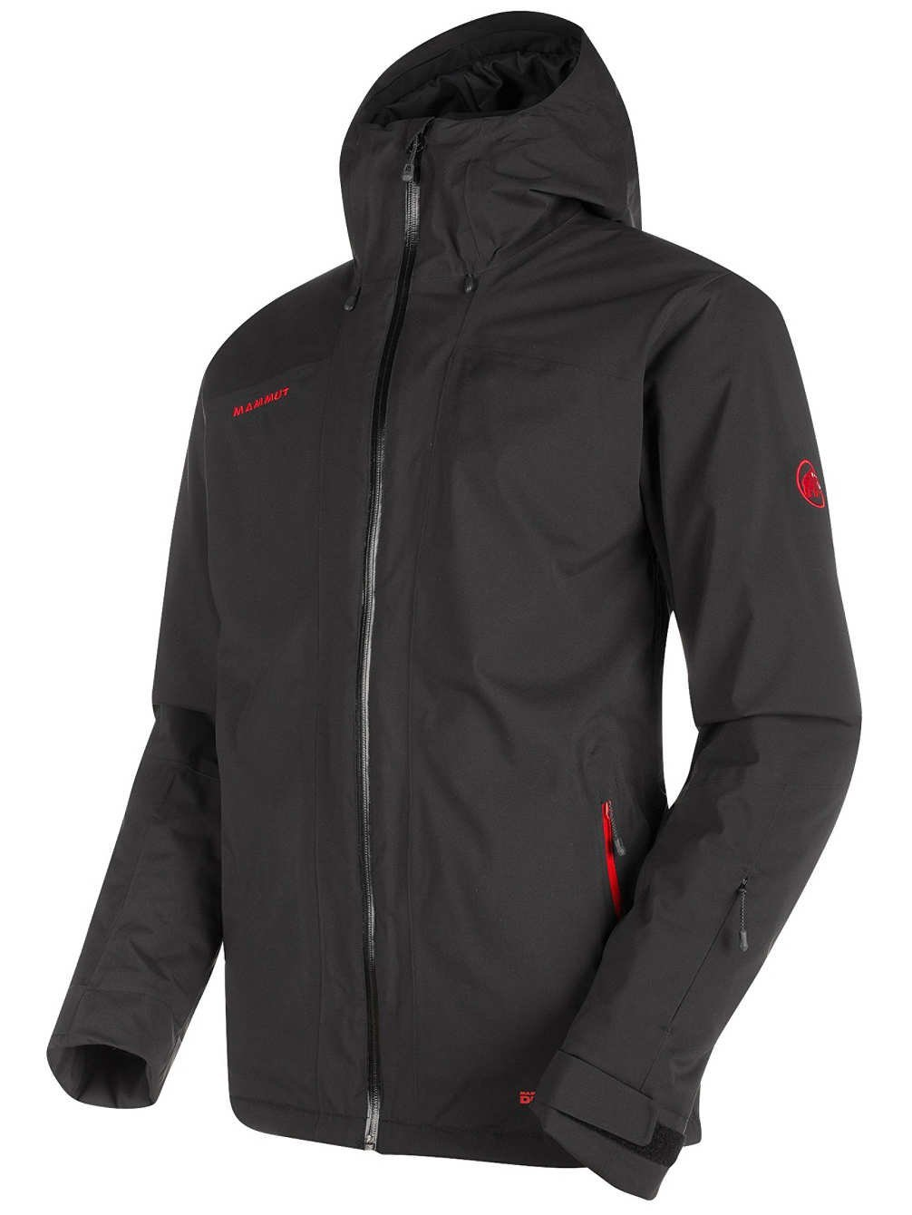 Mammut Andalo HS Thermo Hooded Jacket B071WX7WQL Small|black black Small