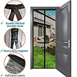 Best Bug Offs - Magnetic Bug Screen Door 34''- 82'': No More Review