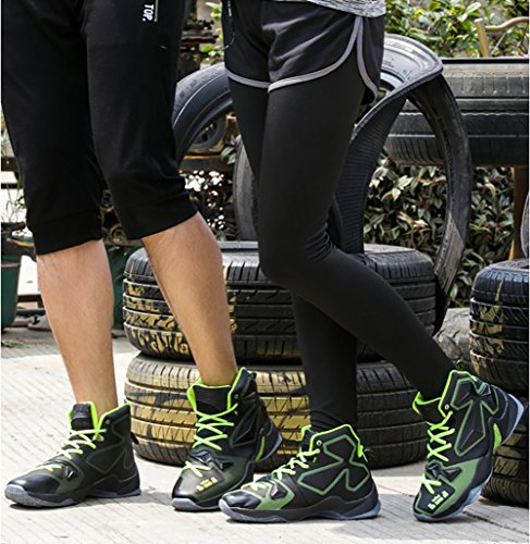 Women's Couple 66 Sneaker Basketball Green No Shoes Running Men's Black Shock Town Shoes Absorption wqIESAf
