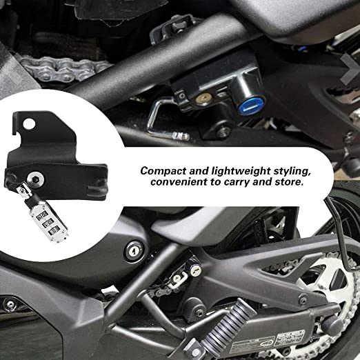 Dingln Motorrad Passwort Helmschloss Anti Diebstahl Zubehör Passend For Kawasaki Vulcan S Abs 2015 2020 Küche Haushalt