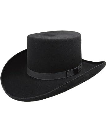 Bailey Men s Western Dillinger Flat Top Hat at Amazon Men s Clothing ... c44160c2c30