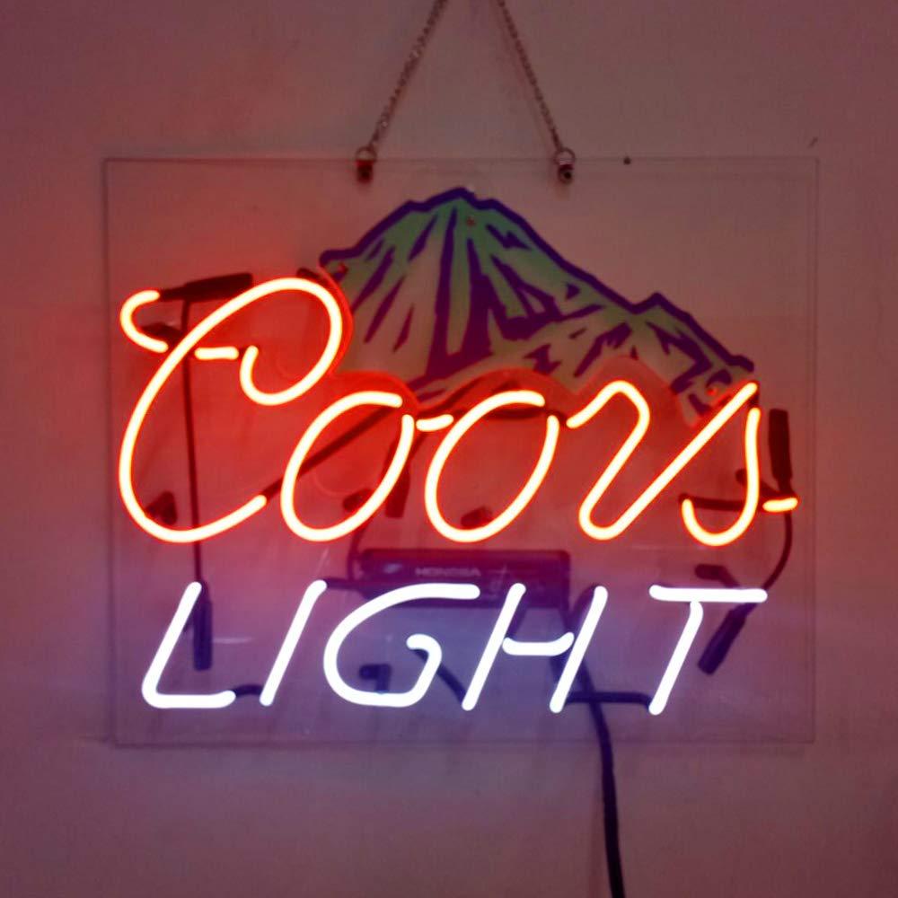 Coors Light Mountainビールバーパブストアパーティー部屋壁Display Neon Signs   B07DN91FD7