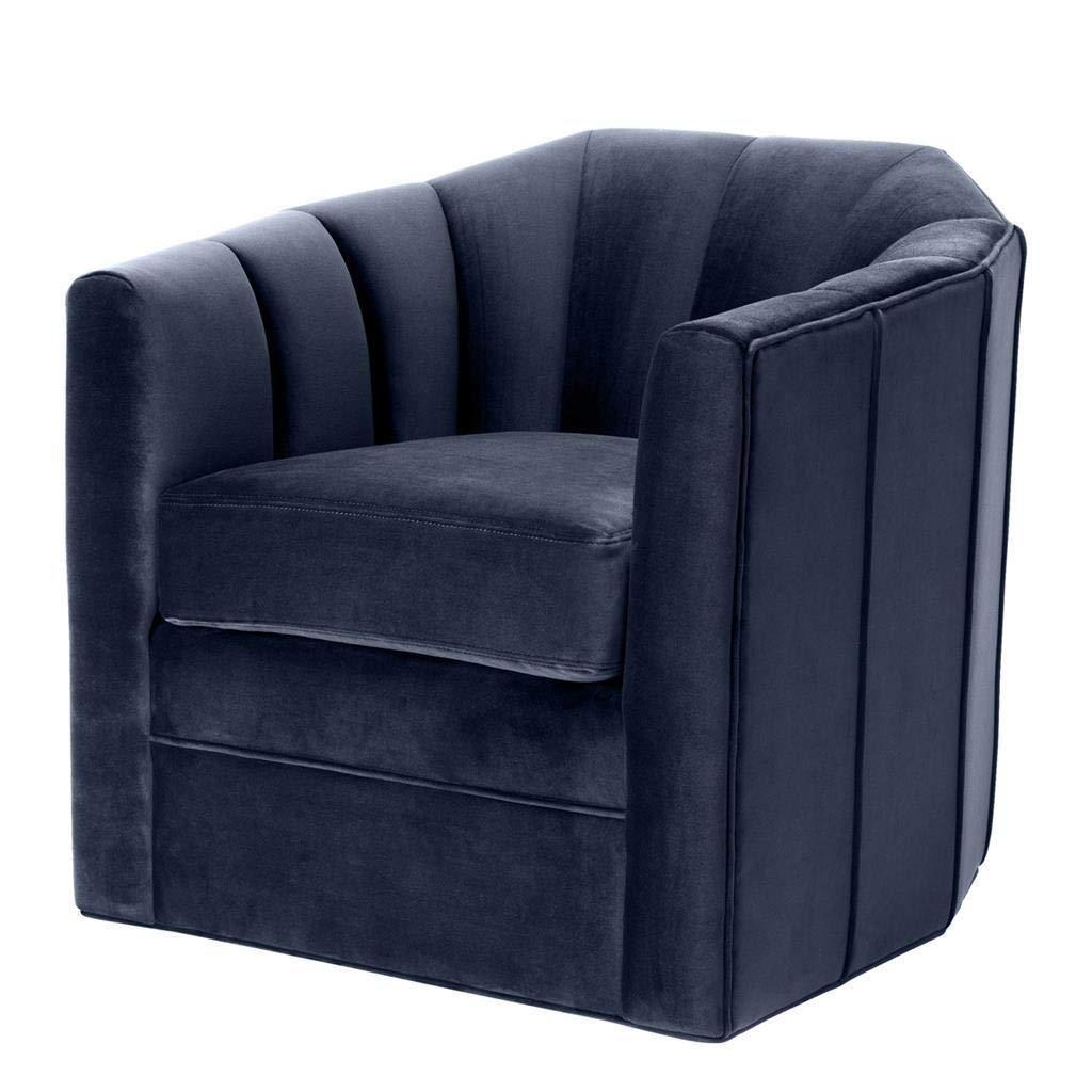 Phenomenal Amazon Com Blue Velvet Swivel Chair Eichholtz Delancey Unemploymentrelief Wooden Chair Designs For Living Room Unemploymentrelieforg