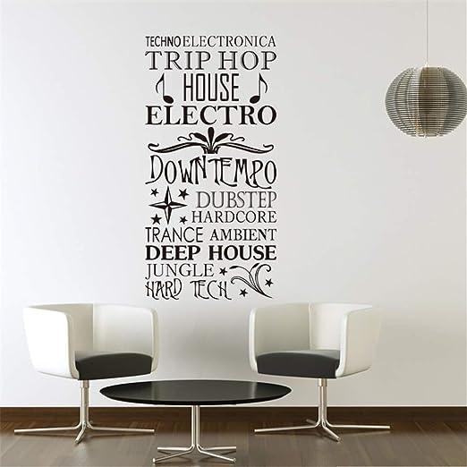 Pegatina De Pared Frases Trip Hop House English Home Decor