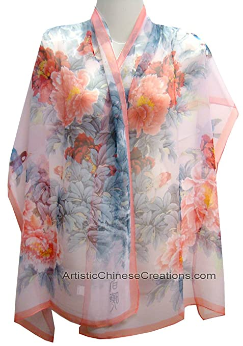 Chinese Apparel Chinese Clothing Chinese Silk Scarf Chinese