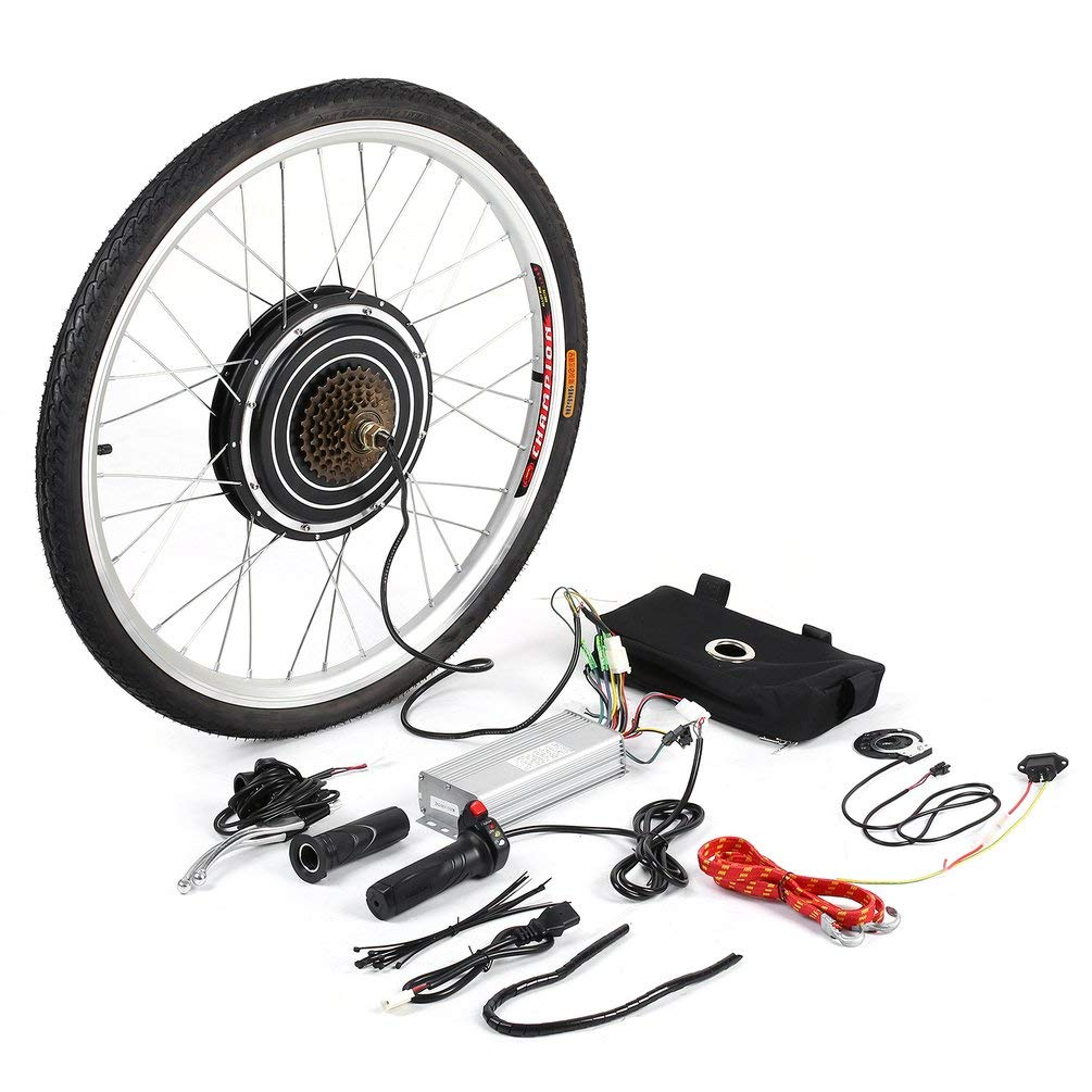Kit de conversión de bicicleta eléctrica de 26 pulgadas, para ...