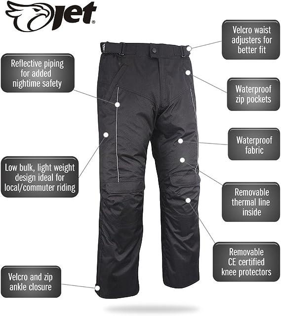 Ropa Y Accesorios De Proteccion Con Cremallera Jet Pantalones Impermeables Para Motocicleta Con Blindaje Ce Coche Y Moto Dayleasing Com