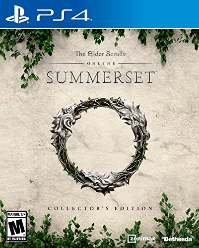 The Elder Scrolls Online: Summerset - PlayStation 4 Collector's Edition