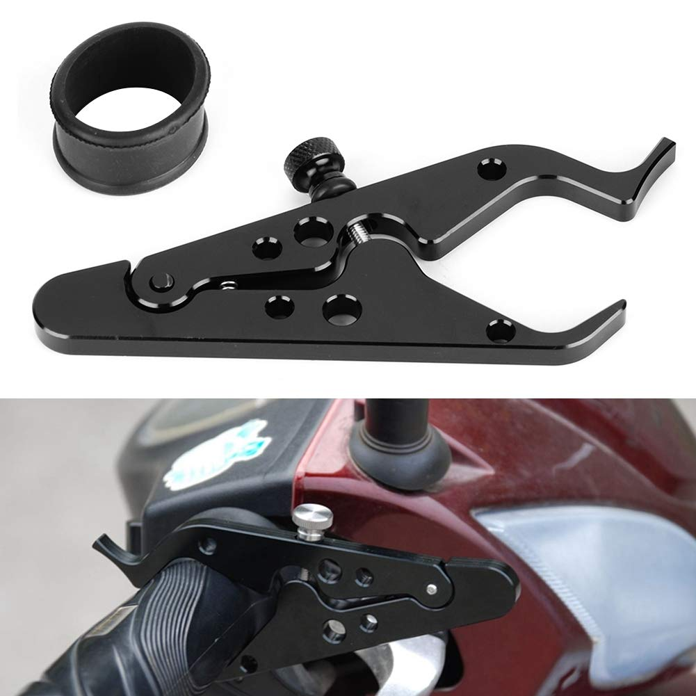 Terisass Throttle Clamp 5.3 1.8 Inch Motorcycle Cruise Throttle Clamp Motorbike Handlebar Control Assist Tool Universal