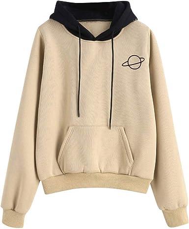 KPILP Crop Top Sweater Girls Women Crop Top Sweater Letter Print Casual Long Sleeve Sweatshirt Short Sport Crop Tops Tops Sweat Jacket Shirts Shirt Blouse