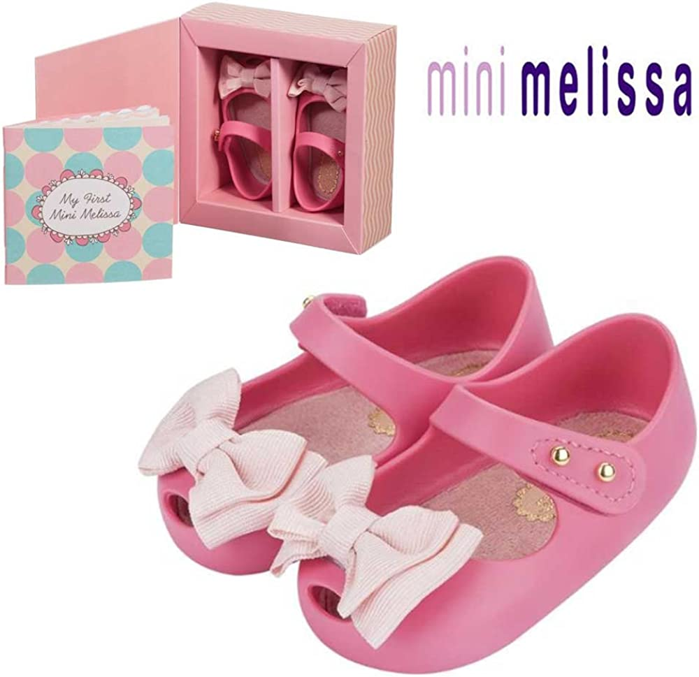 Mini Melissa First Shoes, 3.9 inches