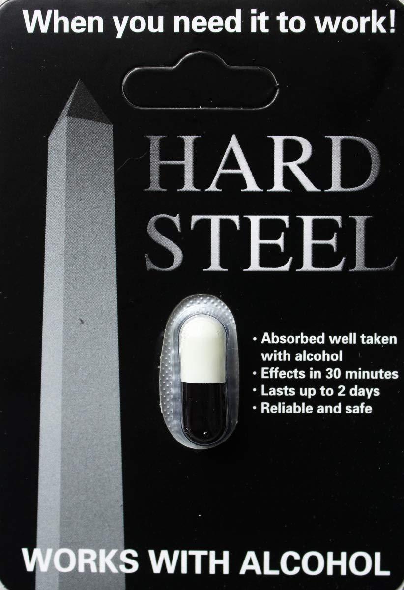 6X Hard Steel Male Sexual Enhancement Pill (6 Pills)