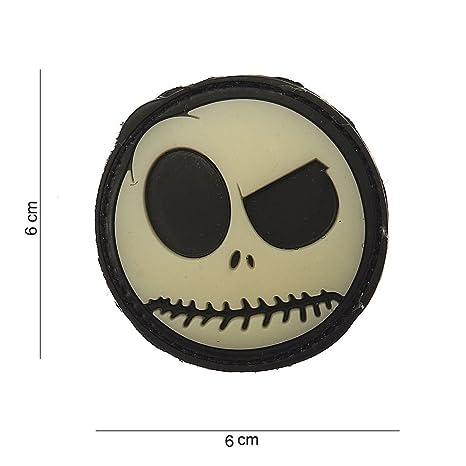 Parche 3D de PVC, de emoticono grande sonriente, para disfraz ...