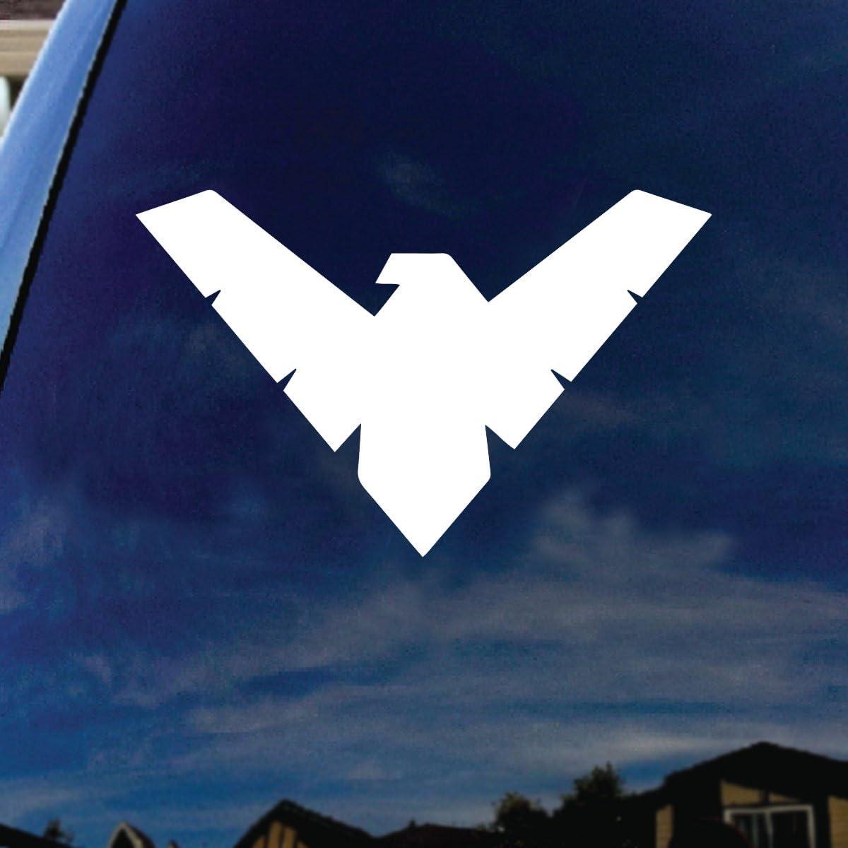 "SoCoolDesign Kryptonian Car Truck Laptop Sticker Decal 4"" Wide"