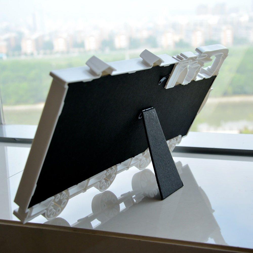 Small train head 3 box 6 inch combination Siamese picture frame Children like the picture frame Wall studio fashion