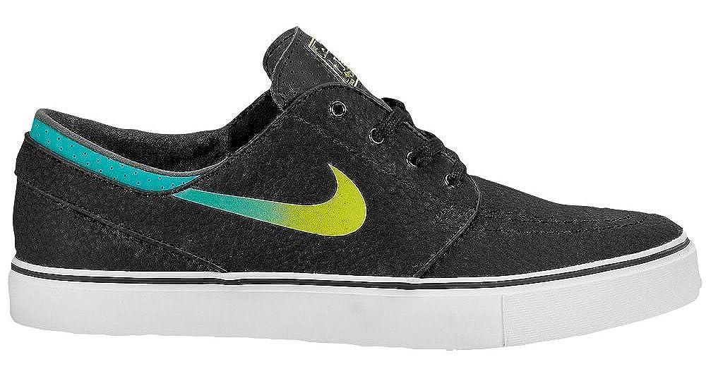 new concept 3a116 3f3e6 Nike Sb Zoom Stefan Janoski Leather - Black Venom Green-Turbo Green-White,  11.5 D UK  Amazon.co.uk  Shoes   Bags